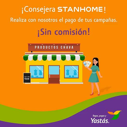 Pago de catálogos STANHOME